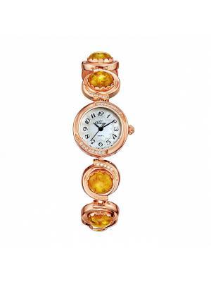 Часы Mikhail Moskvin. Цвет: желтый, золотистый