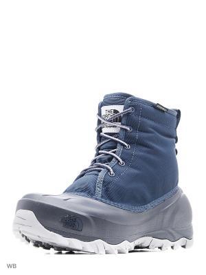 Ботинки The North Face. Цвет: серый, синий