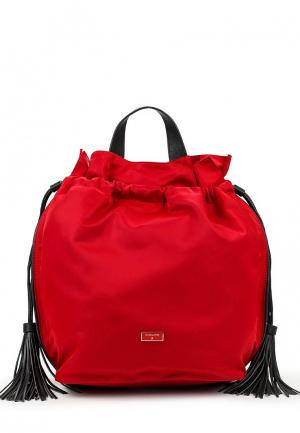 Рюкзак Patrizia Pepe. Цвет: красный