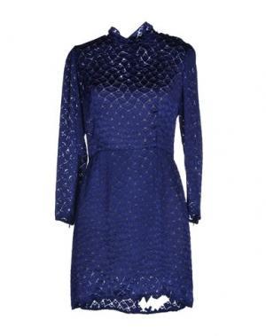 Короткое платье TOCCA. Цвет: темно-синий