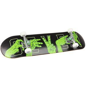 Скейт круизер  Swamp Hands 7.8 Assorted Seven. Цвет: черный