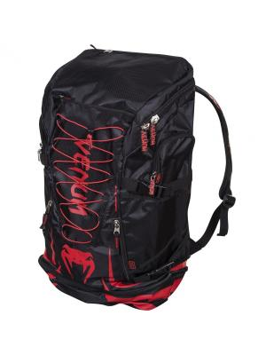 Рюкзак Venum Challenger Xtreme Back Pack - Red Devil. Цвет: черный,красный
