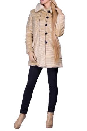 Пальто FABIEN DE FERANTE. Цвет: бежевый