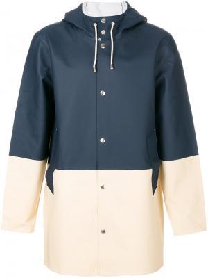 Пальто Stockholm Stutterheim. Цвет: синий