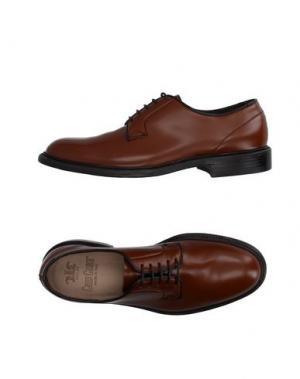 Обувь на шнурках GREEN GEORGE. Цвет: желто-коричневый