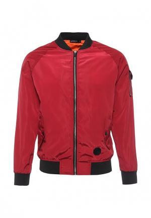 Куртка Aarhon. Цвет: красный