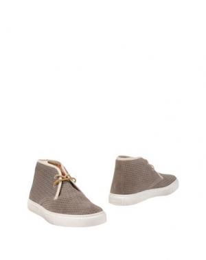 Полусапоги и высокие ботинки STOKTON. Цвет: серый