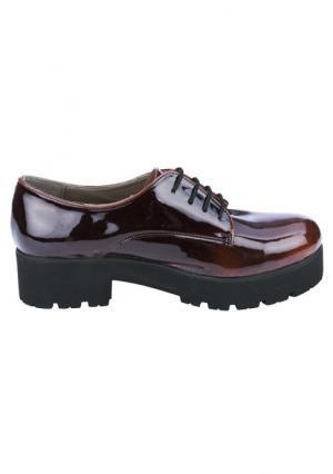 Ботинки Andrea Conti. Цвет: бордовый