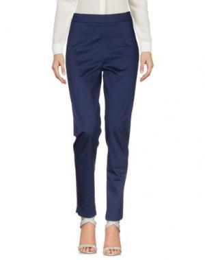 Повседневные брюки SAVE THE QUEEN. Цвет: темно-синий