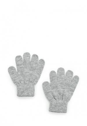 Перчатки Button Blue. Цвет: серый
