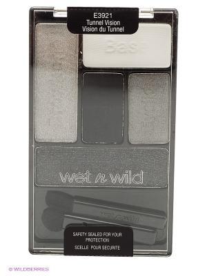 Тени для век набор color icon eye shadow palette, тон tunnel vision Wet n Wild. Цвет: светло-серый