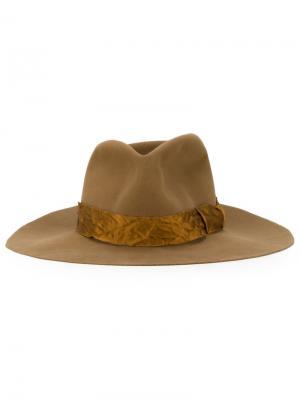 Шляпа ARKnets Exclusive Kijima Takayuki. Цвет: коричневый
