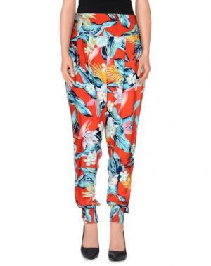 Повседневные брюки BILLABONG. Цвет: красный