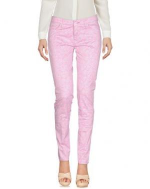 Повседневные брюки BARONIO. Цвет: розовый