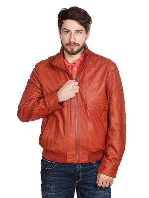 Куртка Trapper. Цвет: красный