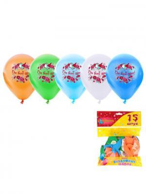 Набор воздушных шаров А М Дизайн. Цвет: светло-зеленый, голубой, светло-оранжевый