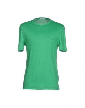Футболка GRAN SASSO. Цвет: зеленый