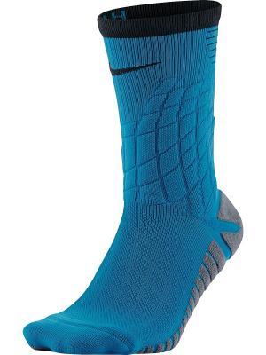 Гольфы STRIKE HYPERVENOM FOOTBAL Nike. Цвет: черный, светло-голубой, серый