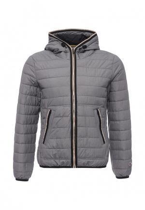 Куртка утепленная Champion. Цвет: серый