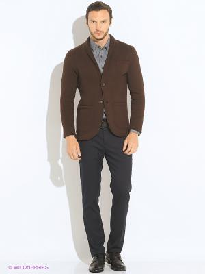 Пиджак Пряник. Цвет: коричневый