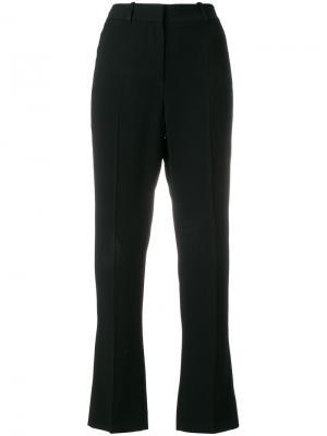 Зауженные к низу брюки с высокой талией Givenchy. Цвет: чёрный