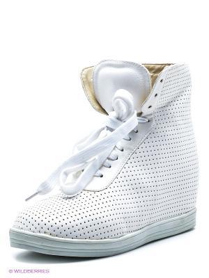 Ботинки Friis. Цвет: белый