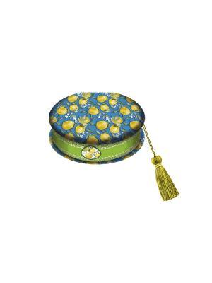 Шкатулка Лимоны Magic Home. Цвет: синий