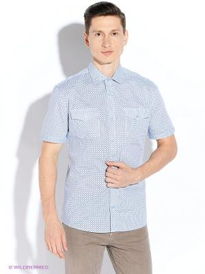 Рубашка Maestro. Цвет: светло-голубой
