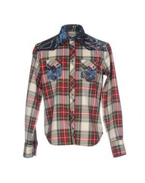 Pубашка LEITMOTIV. Цвет: бежевый
