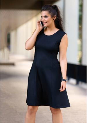 Платье Venca. Цвет: черный
