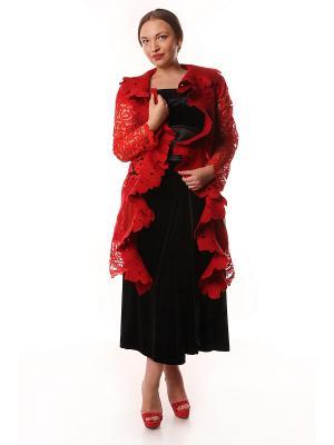 Пальто SEANNA. Цвет: красный