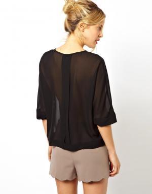 Купить Блузка С Открытой Спиной