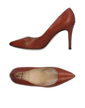 Туфли L'ARIANNA. Цвет: желто-коричневый