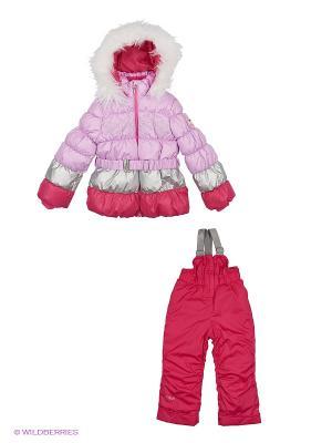Комплект одежды BOOM. Цвет: фуксия