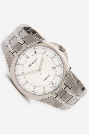 Часы наручные Adriatica. Цвет: серый