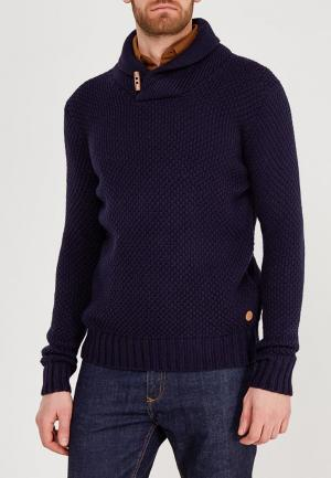Пуловер Springfield. Цвет: синий