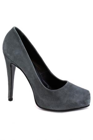 Туфли Elena. Цвет: серый