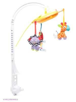 Музыкальная карусель Сафари Playgro. Цвет: фиолетовый, оранжевый, желтый