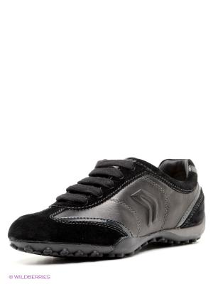 Кроссовки GEOX. Цвет: черный