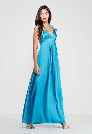 Платье Ано. Цвет: бирюзовый