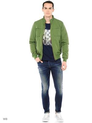 Джинсы United Colors of Benetton. Цвет: антрацитовый, серый