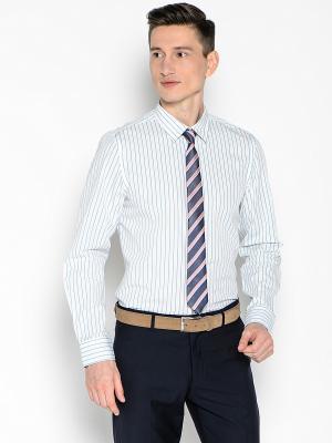 Рубашка Top Secret. Цвет: голубой, белый