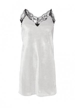 Платье Chic. Цвет: серый
