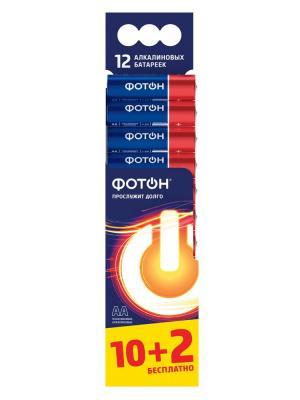 Эл-т питания ФОТОН LR6 BP12. Цвет: синий
