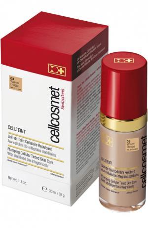 Клеточный крем с тональным эффектом CellTeint 03 Cellcosmet&Cellmen. Цвет: бесцветный