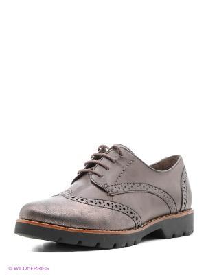 Ботинки Jana. Цвет: коричневый, черный