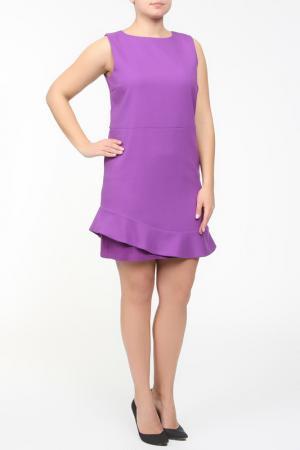 Платье Frankie Morello. Цвет: фиолетовый