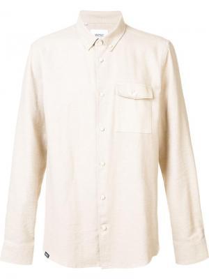 Рубашка Oakes Wesc. Цвет: телесный