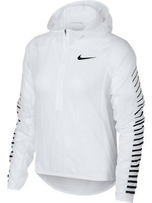 Анорак W NK IMP LT JKT HD GX Nike. Цвет: белый