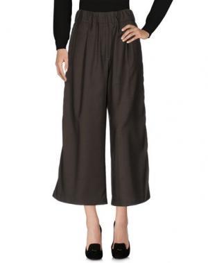 Повседневные брюки MYTHS. Цвет: зеленый-милитари